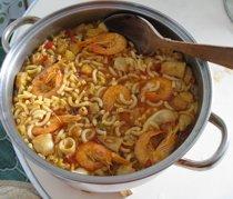 Recetas de cocina valencianas comida de valencia - Youtube fideua de marisco ...
